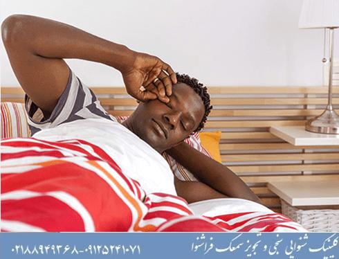 مشکلات خواب با وزوزگوش
